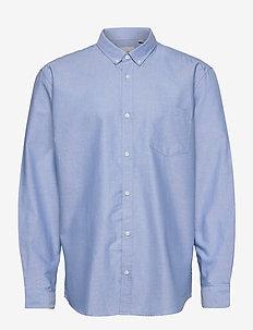 ONSALVARO LIFE LS OXFORD SHIRT NOOS - podstawowe koszulki - cashmere blue