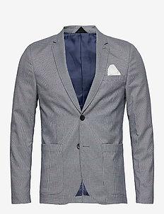 onsGERHARD CHECK  2B BLAZER TLR - DRESS BLUES