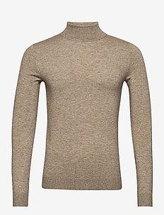 ONSMIKKEL 12 SOFT HIGH NECK KNIT - basic knitwear - pelican