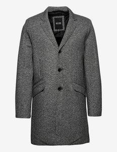 ONSJULIAN KING COAT IN OTW VD - manteaux legères - dark grey melange