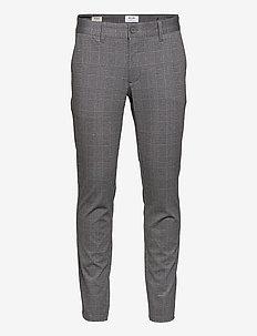 ONSMARK TAP PANT CHECK GD 8649 - suit trousers - black