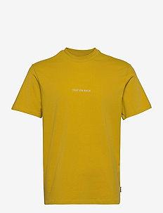 ONSALLEN LIFE REG SS TEE - t-shirts à manches courtes - antique moss