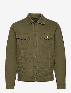 ONSCOIN LIFE  COLOUR TRUCKER PK 9553 - jeansjackor - olive night