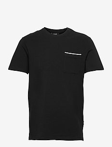 ONSABRAM LIFE REG SS TEE - t-shirts basiques - black