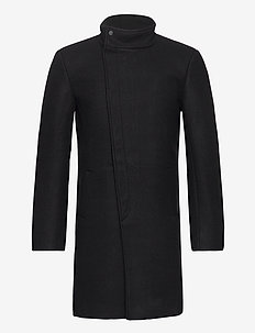 ONSOSCAR STAR COAT OTW - wool coats - black