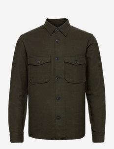 ONSMILO LIFE LS SOLID OVERSHIRT - chemises basiques - peat