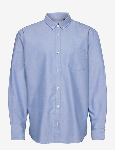 ONSALVARO LIFE LS OXFORD SHIRT - basic overhemden - cashmere blue