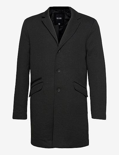 ONSJULIAN KING COAT IN OTW VD - cienkie płaszcze - black