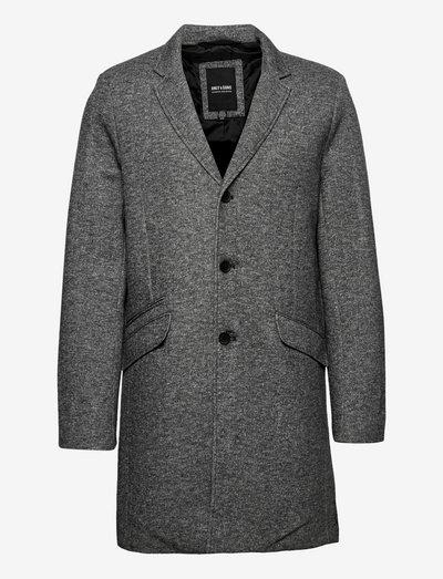 ONSJULIAN KING COAT IN OTW VD - cienkie płaszcze - dark grey melange