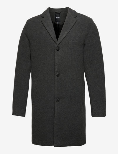 ONSJAYLON WOOL COAT OTW - wollen mantels - dark grey melange