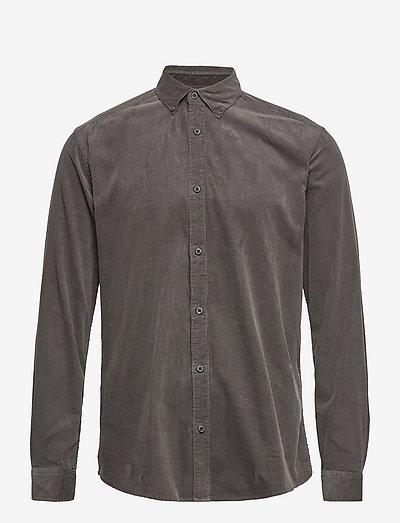 ONSLOGAN LIFE LS REG CORD SHIRT - koszule casual - peat