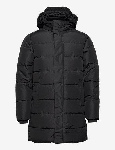 ONSCARL LONG QUILTED COAT OTW - kurtki puchowe - black