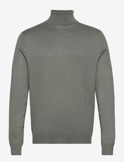 ONSWYLER LIFE ROLL NECK KNIT - basic gebreide truien - castor gray