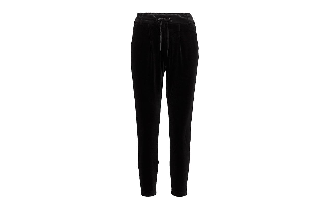 Elastane Velvet Onlpoptrash Pnt 5 Black 95 Only Pant Smooth Polyester qzExwxRv