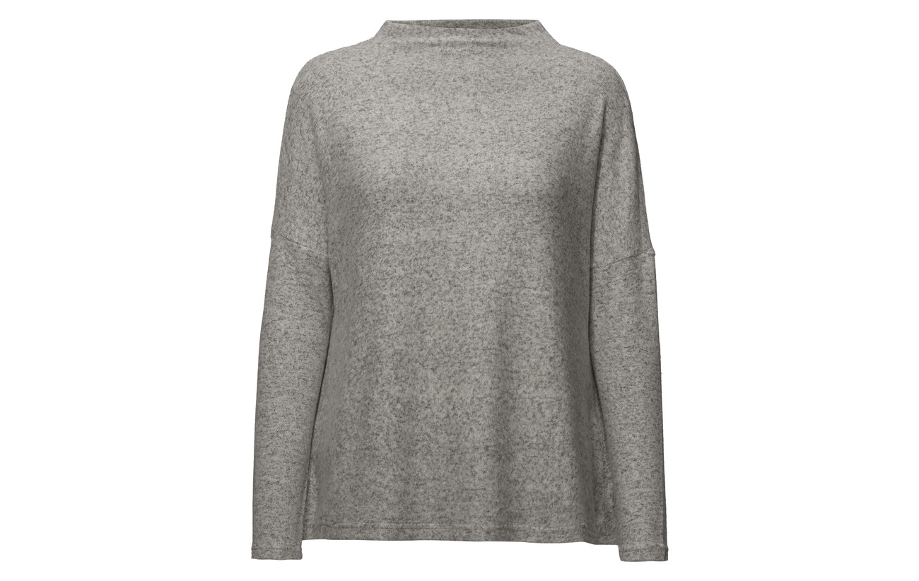 Viscose Noos L Onlkleo Polyester Elastane Light Plain 81 Only Pullover 5 14 s Melange Knt Grey ZqYOS5wP5x