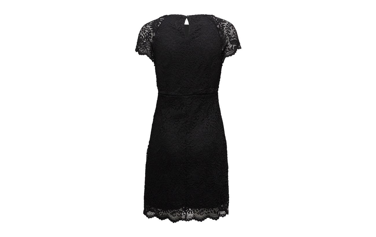 Noos Lace Wvn Onlshira Black Only 90 Elastane Polyester Dress 10 5StIZSwq