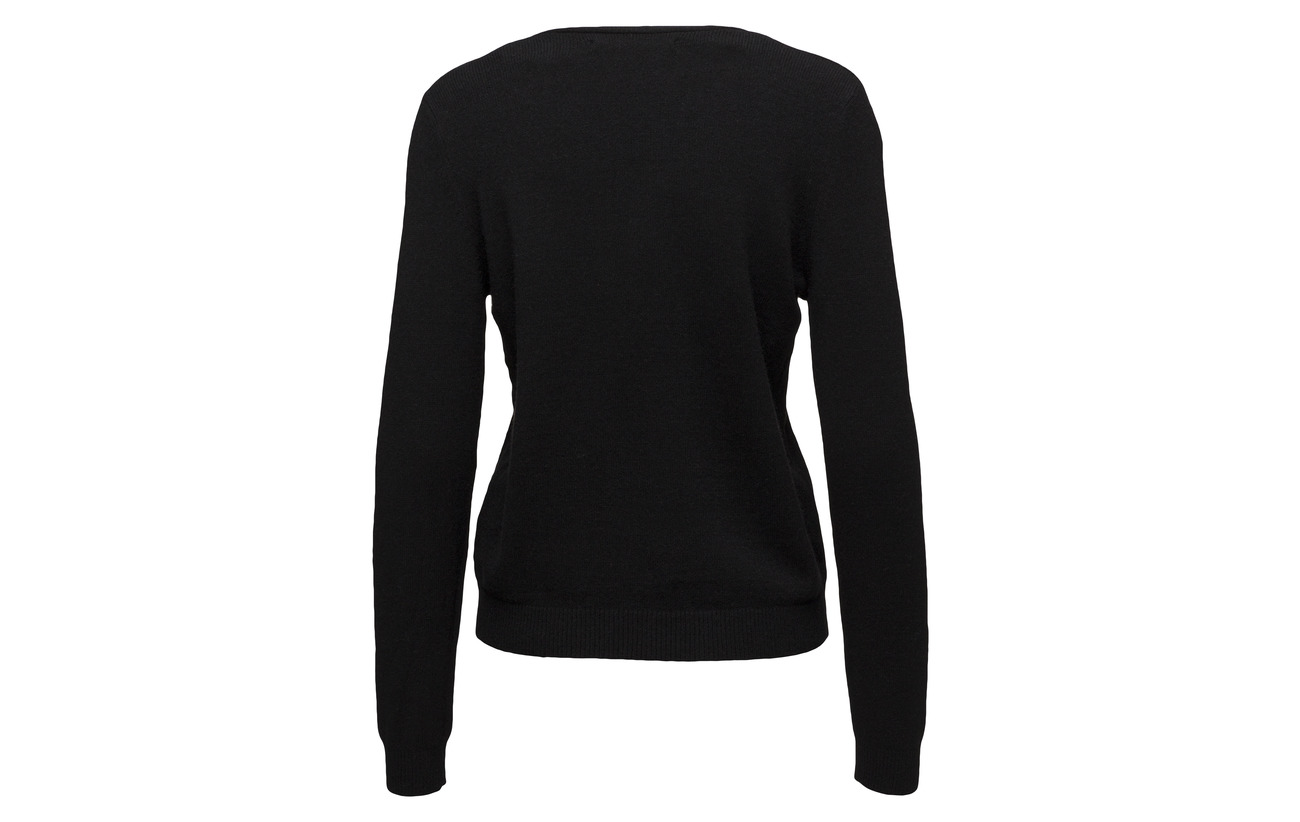 Pullover Onlqueen neck Nylon Only 50 Polyester Black L V Viscose s Noos 23 Knt 27 AXxRaZRW4