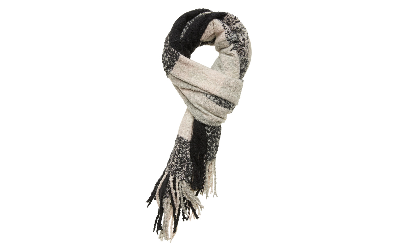 ONLY ONLJANET WEAVED SCARF CC - BLACK