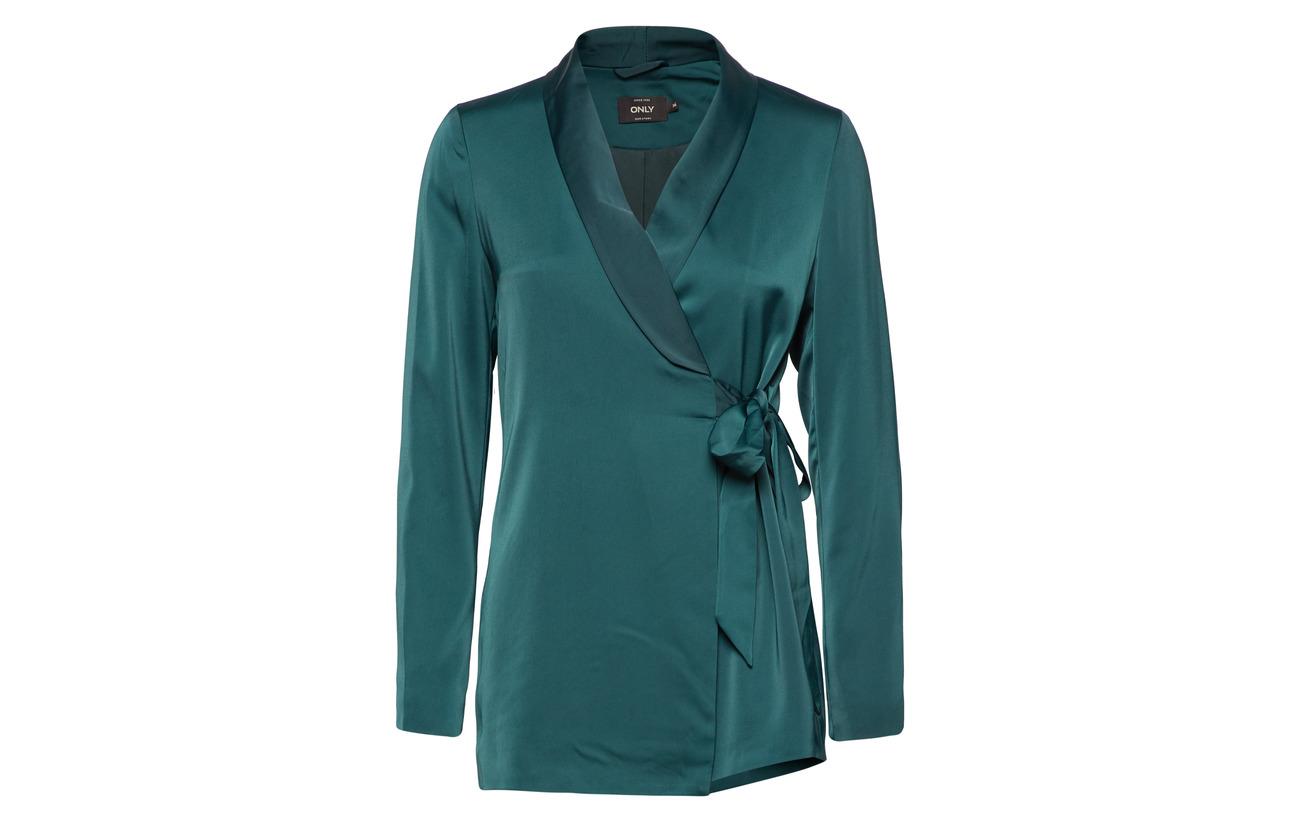 Blazer Polyester Tlr Only Wrap Onlgaby Elastane Tie 98 2 Green Carolina Gables wqIFpUa