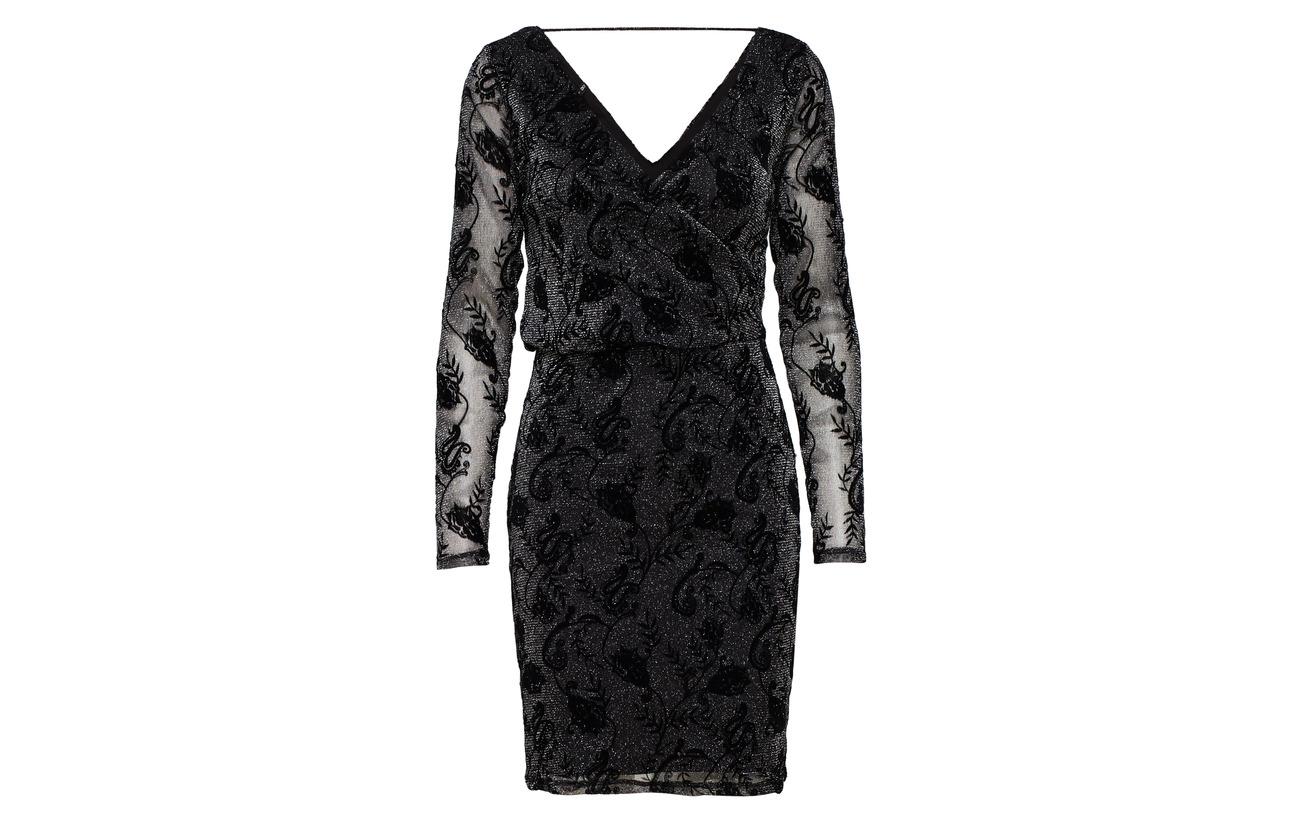 Jrs L Onltayla s Polyamide Métallique 13 Dress Fibers Black Only 87 wI15g5