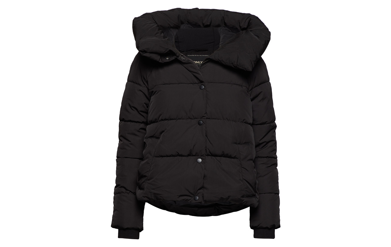 Polyester Otw Black Padded Onlmari 100 Jacket Only qpwzO4