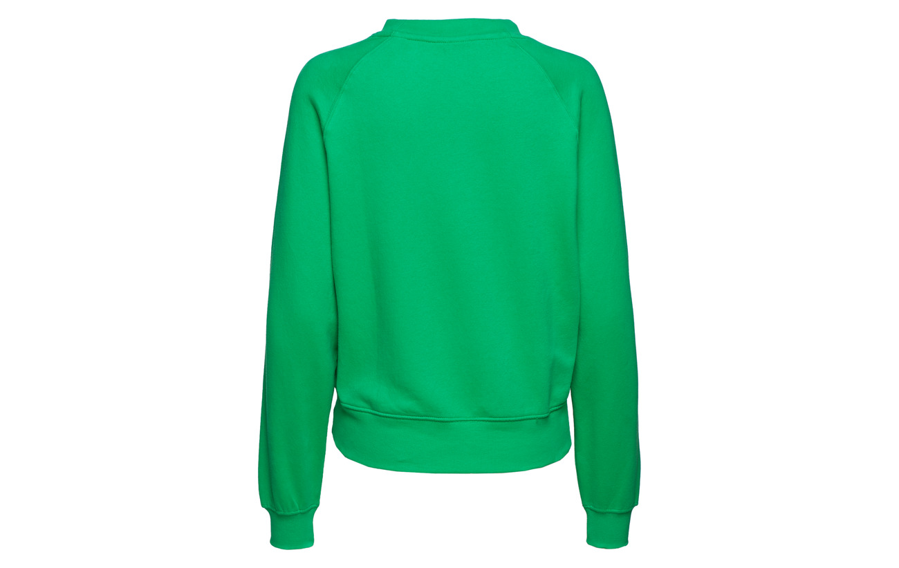 Swt Bf Onllotta Polyester neck Only O Green s 60 L 40 Bright Coton 6THZ6OWg