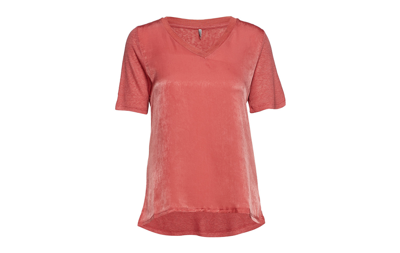 70 Top Cloud Mix Polyester Onlbern Viscose Dancer V 30 neck S s Jrs Only TCaqvw1C