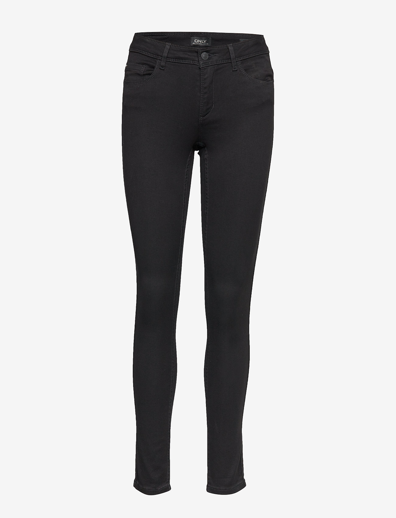 ONLY - onlULTIMATE KING REG JEANS CRY100 NOOS - skinny jeans - black denim - 0