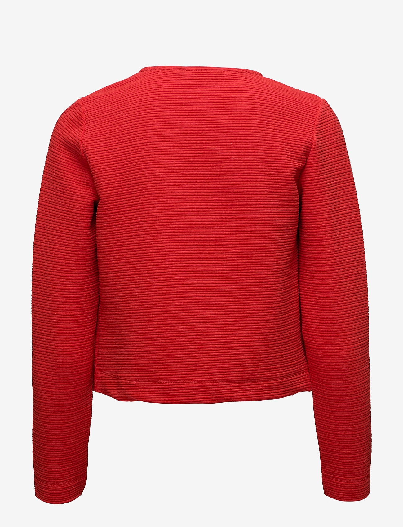 ONLY - onlLECO ODESSA L/S CARDIGAN JRS NOOS - vestes tailleur - flame scarlet