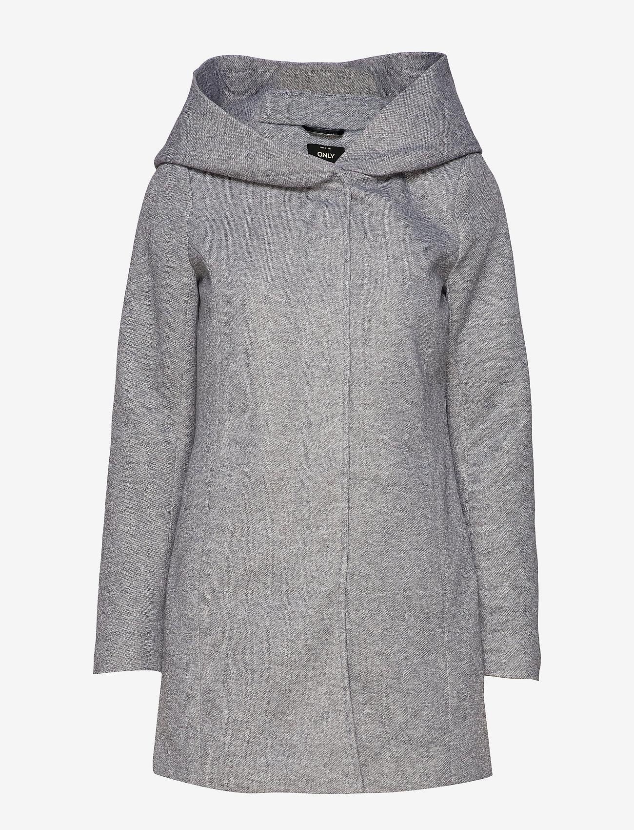 ONLY - ONLSEDONA LIGHT COAT OTW - dunne jassen - light grey melange - 1