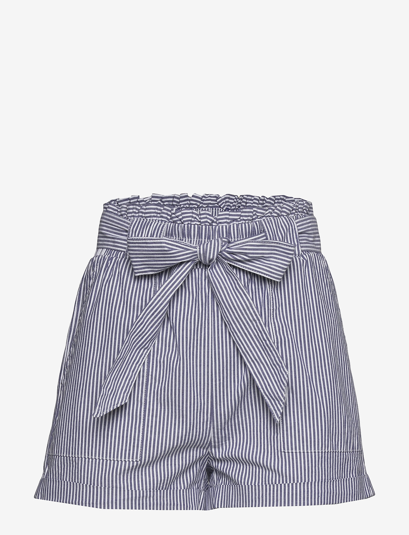 ONLY - ONLSMILLA STRIPE BELT DNM SHORTS - shorts casual - medium blue denim - 0