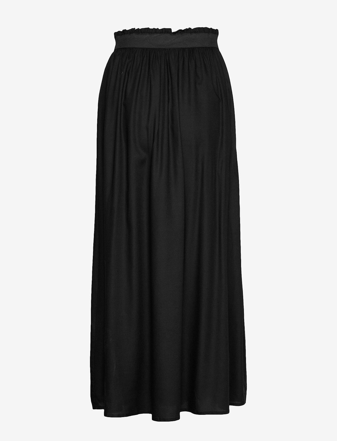 Only Onlvenedig Paperbag Long Skirt Wvn Noos - Kjolar Black