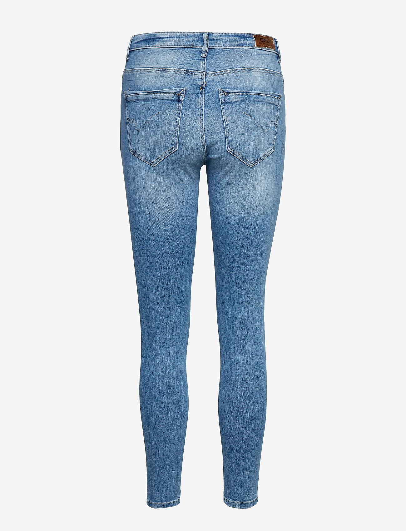 Only Onlpaola Life Hw Sk Jns Bb Azg809 Noos - Jeans Light Blue Denim