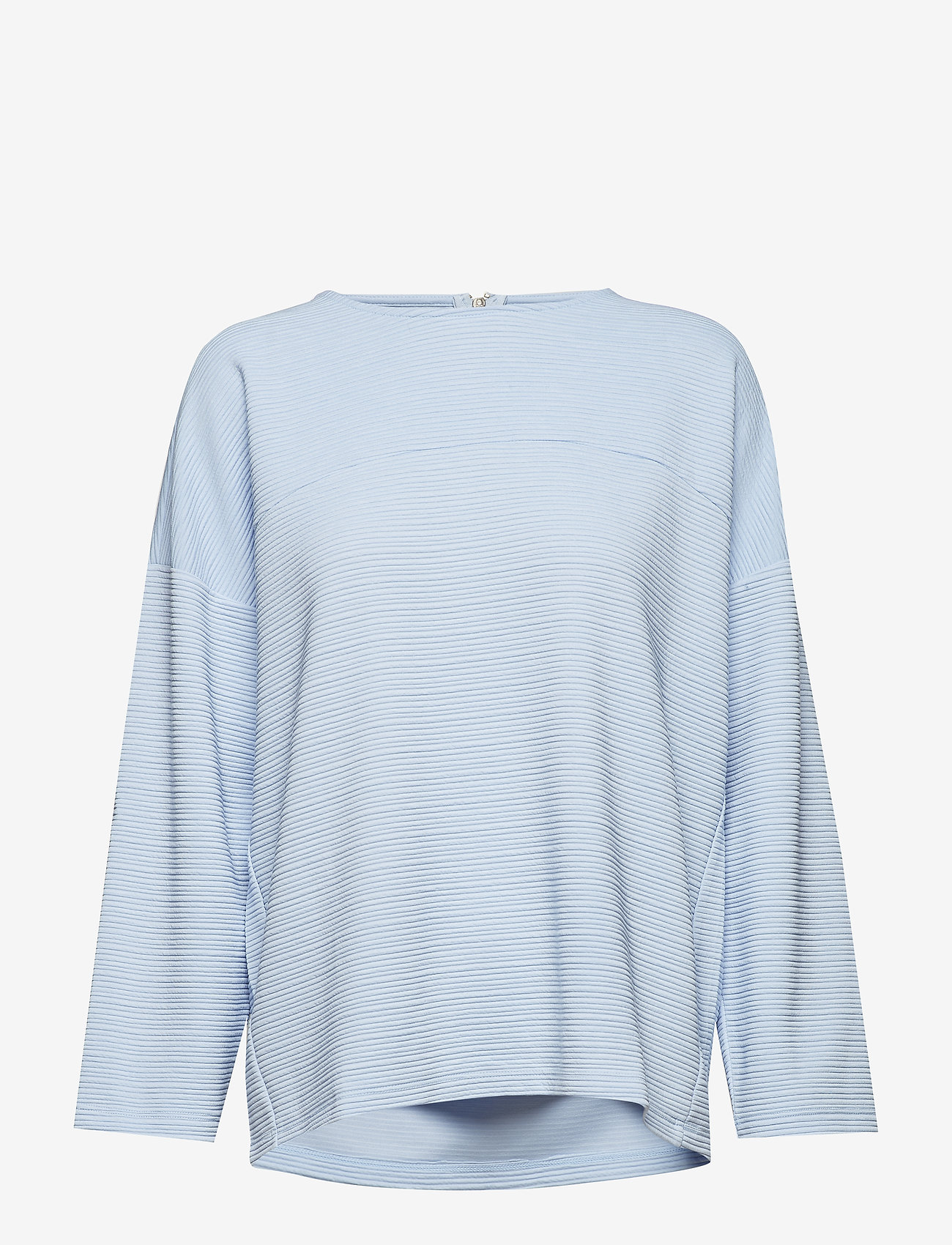 ONLY - onlLECO MAISE L/S ZIP TOP JRS - long sleeved blouses - cashmere blue