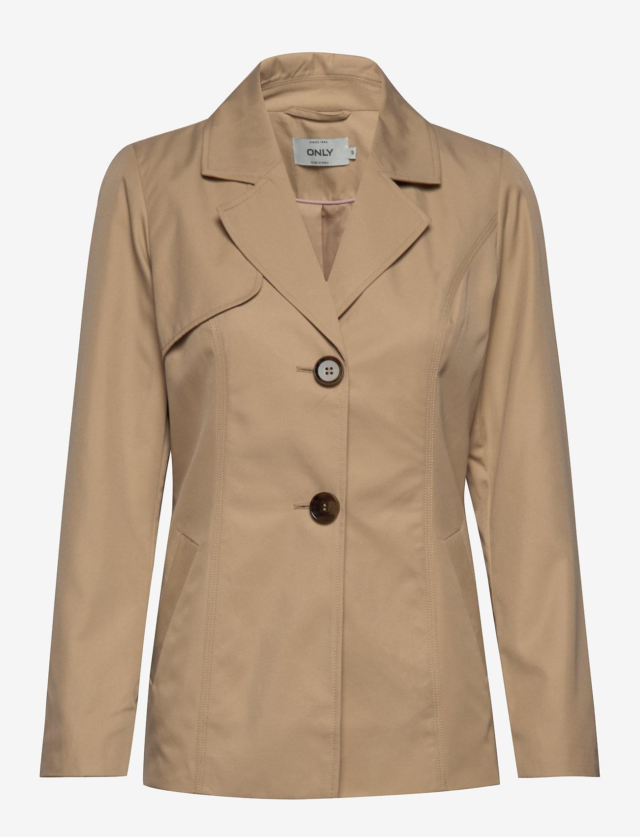 Only Onlwinnie Trenchcoat Cc Otw - Kavajer Ginger Root