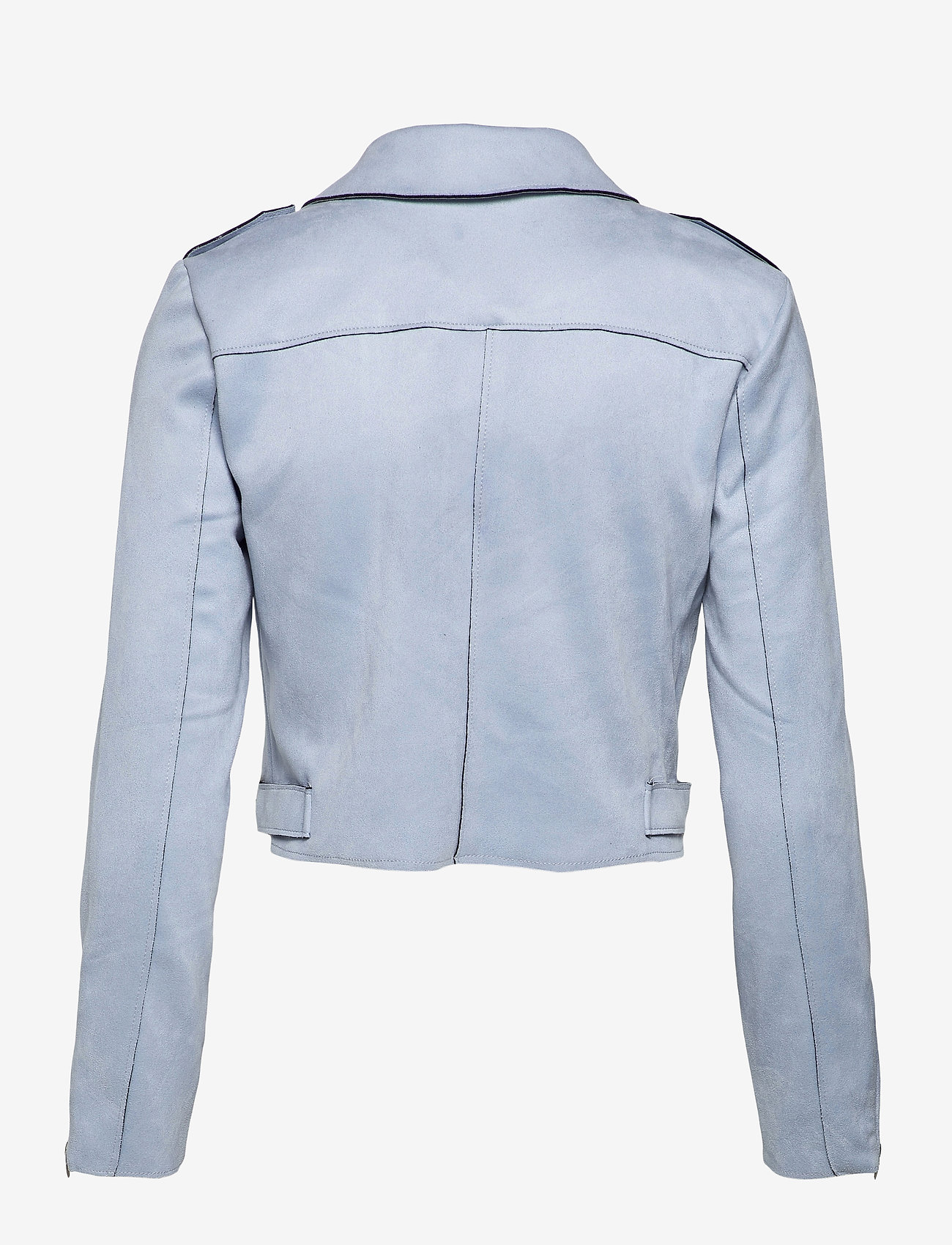 ONLY - ONLSHERRY CROP  BONDED BIKER CC OTW - tunna jackor - kentucky blue - 1