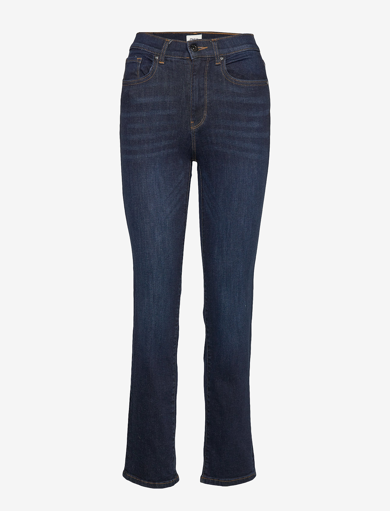 ONLY - ONLNAHLA LIFE HW STRT BB SOO2524 - straight jeans - dark blue denim - 0