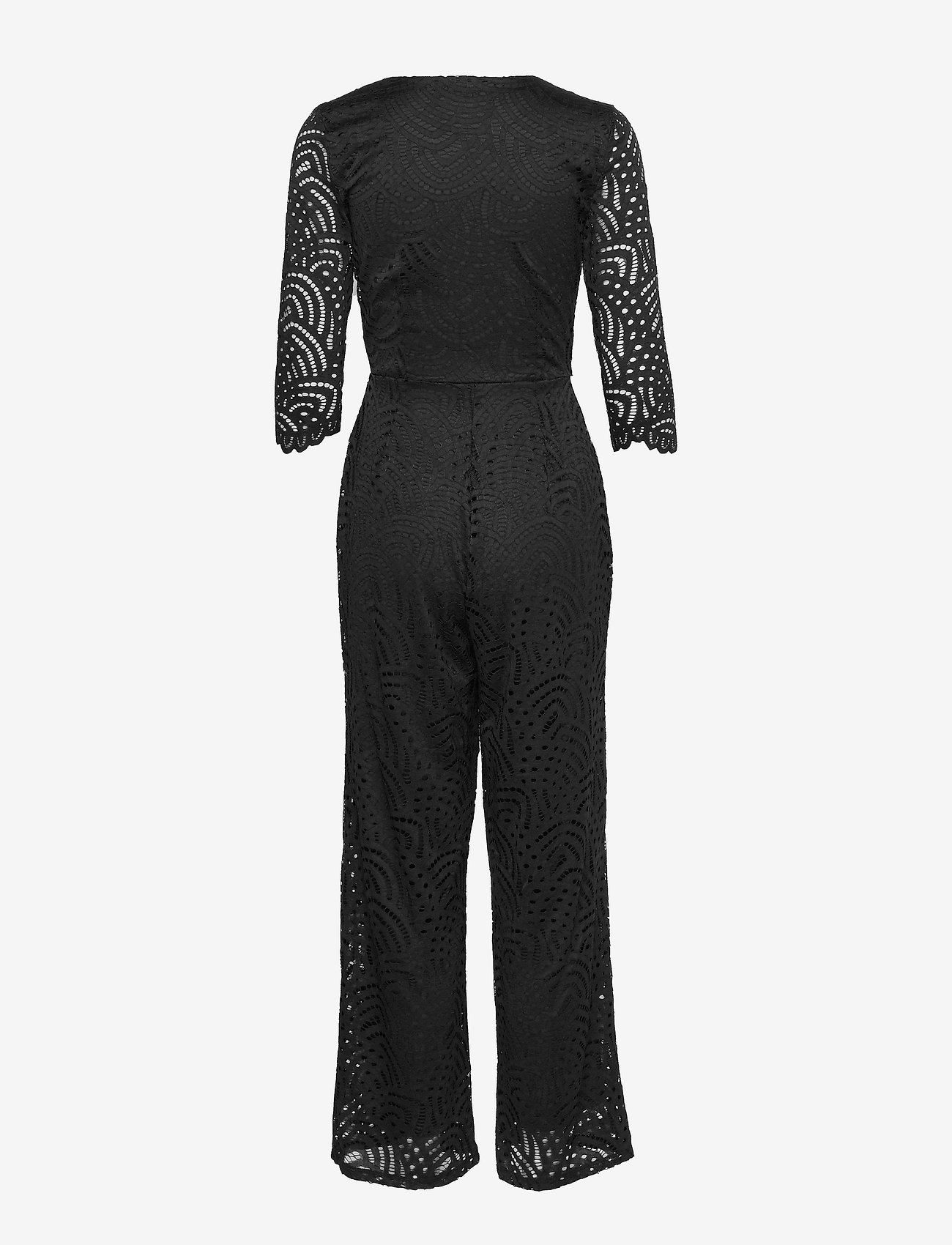 ONLY - ONLEDITH 3/4 WRAP JUMPSUIT JRS - jumpsuits - black