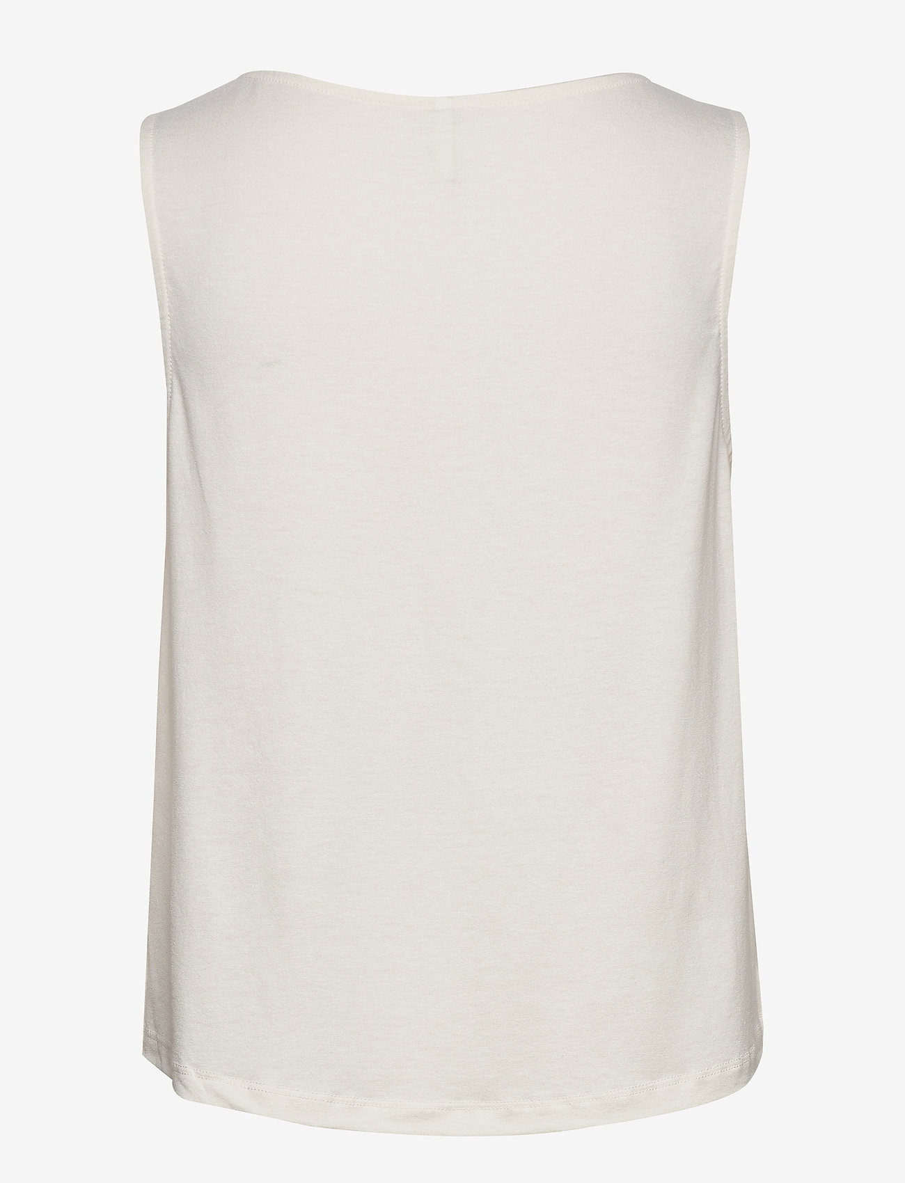 ONLY - ONLSCALA S/L TOP JRS - sleeveless blouses - cloud dancer
