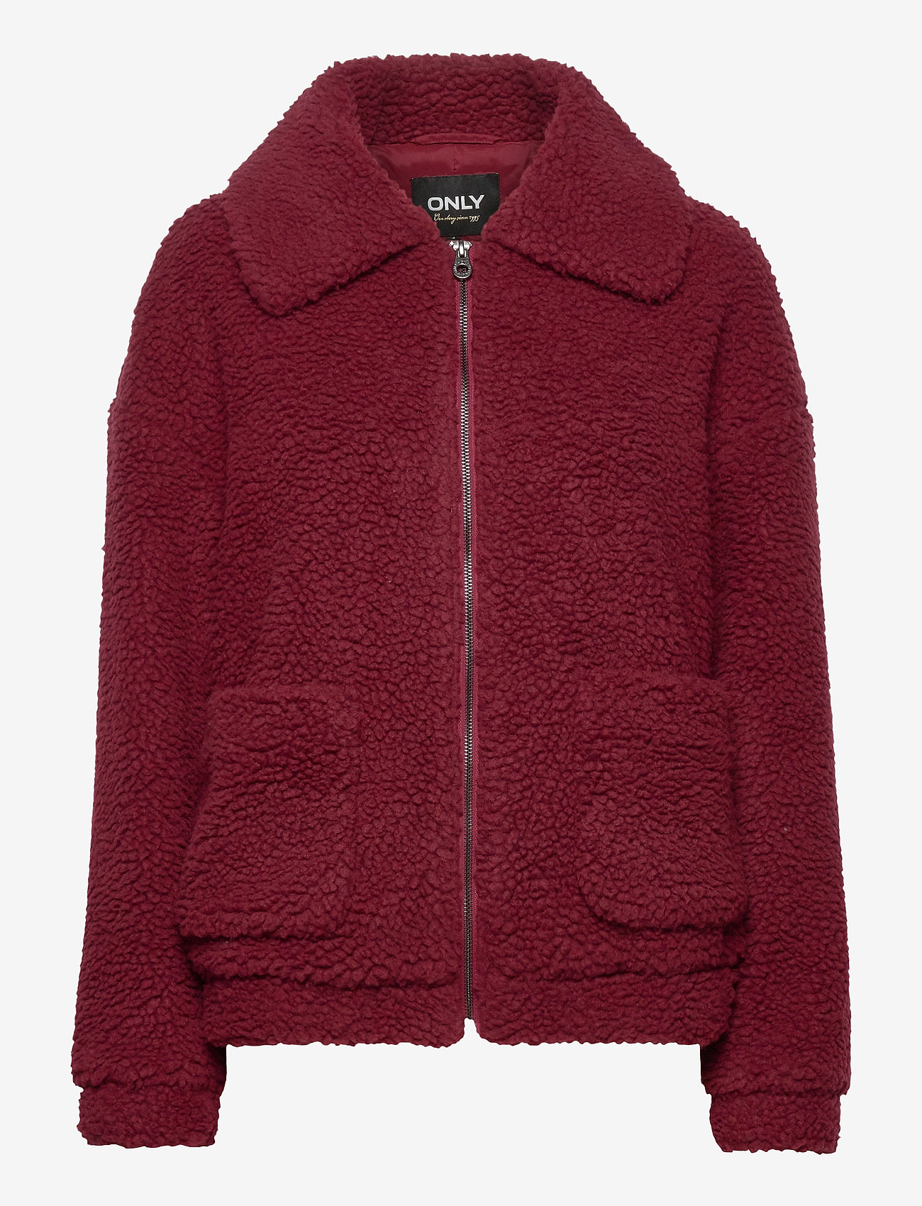 ONLY - ONLEMMA SHERPA JACKET CC OTW - faux fur - pomegranate - 0