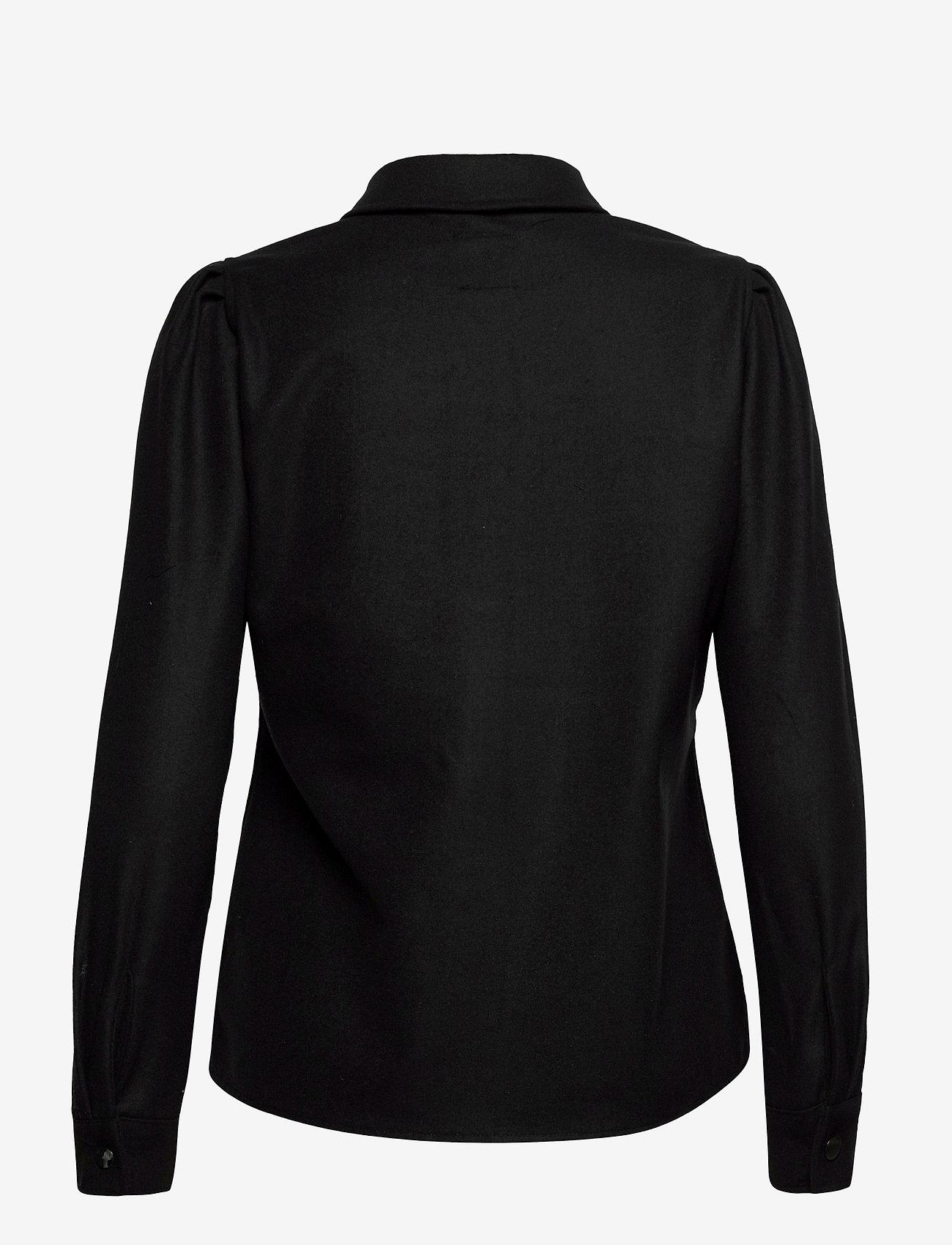 ONLY - ONLEILENA-VARI L/S PUFF SHIRT PNT - overshirts - black - 1