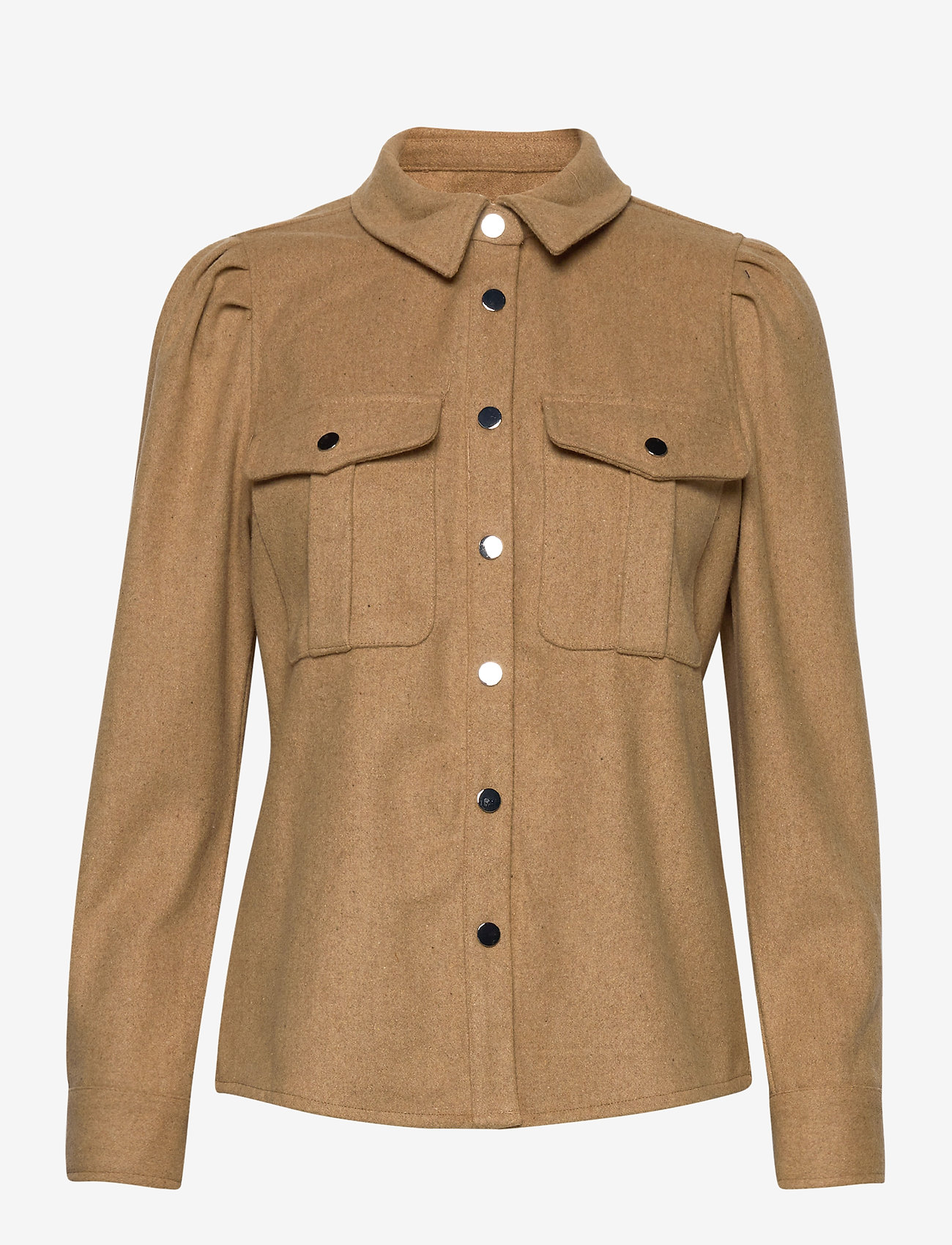 ONLY - ONLEILENA-VARI L/S PUFF SHIRT PNT - overshirts - curds & whey - 0