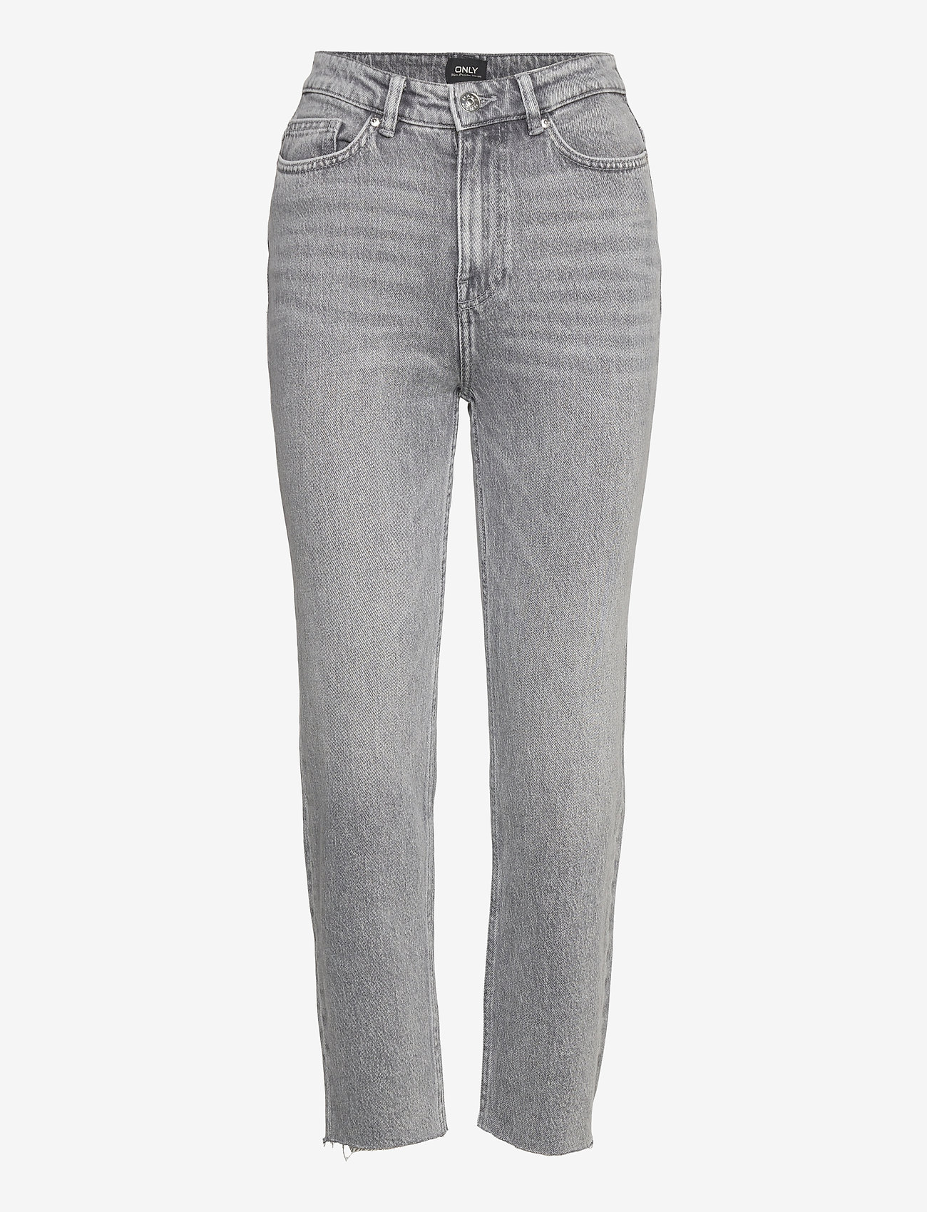 ONLY - ONLEMILY LIFE HW ST RW CP AK NAS027 - straight jeans - grey denim - 0