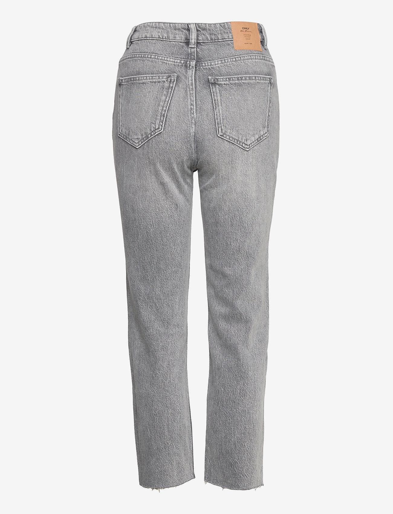 ONLY - ONLEMILY LIFE HW ST RW CP AK NAS027 - straight jeans - grey denim - 1