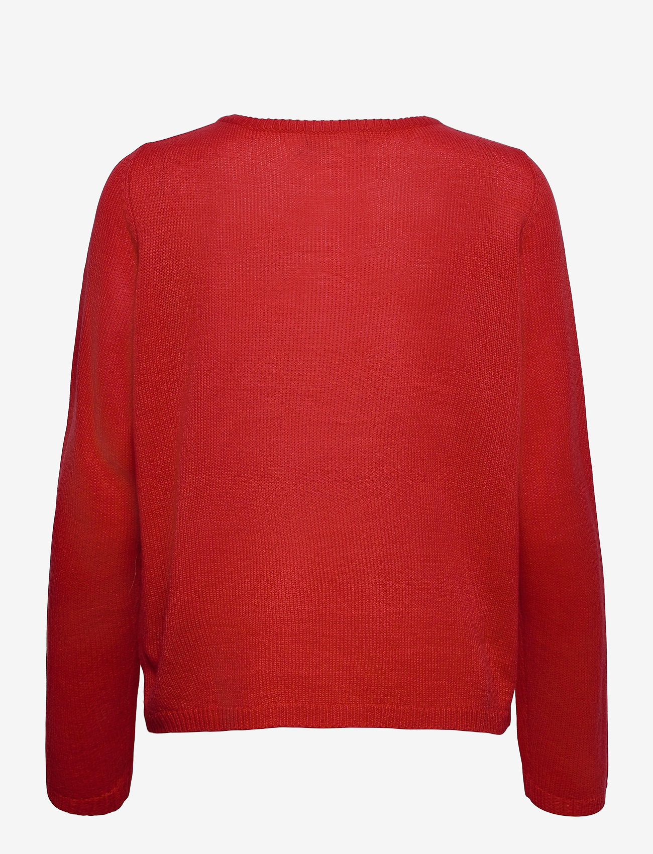 ONLY - ONLXMAS JOLLY L/S PULLOVER KNT - gensere - high risk red - 1