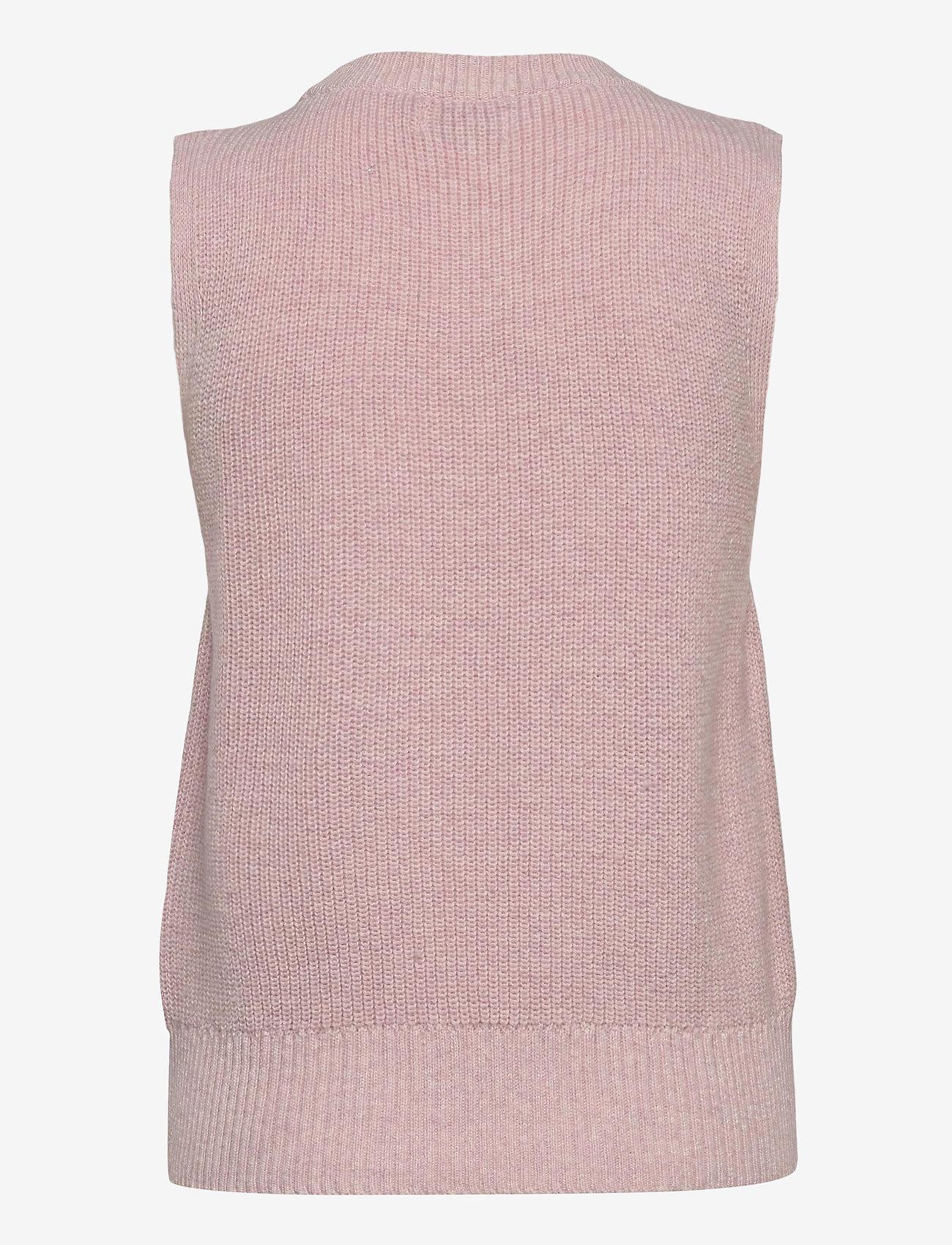 ONLY - ONLPARIS LIFE VEST KNT - knitted vests - ballerina - 1