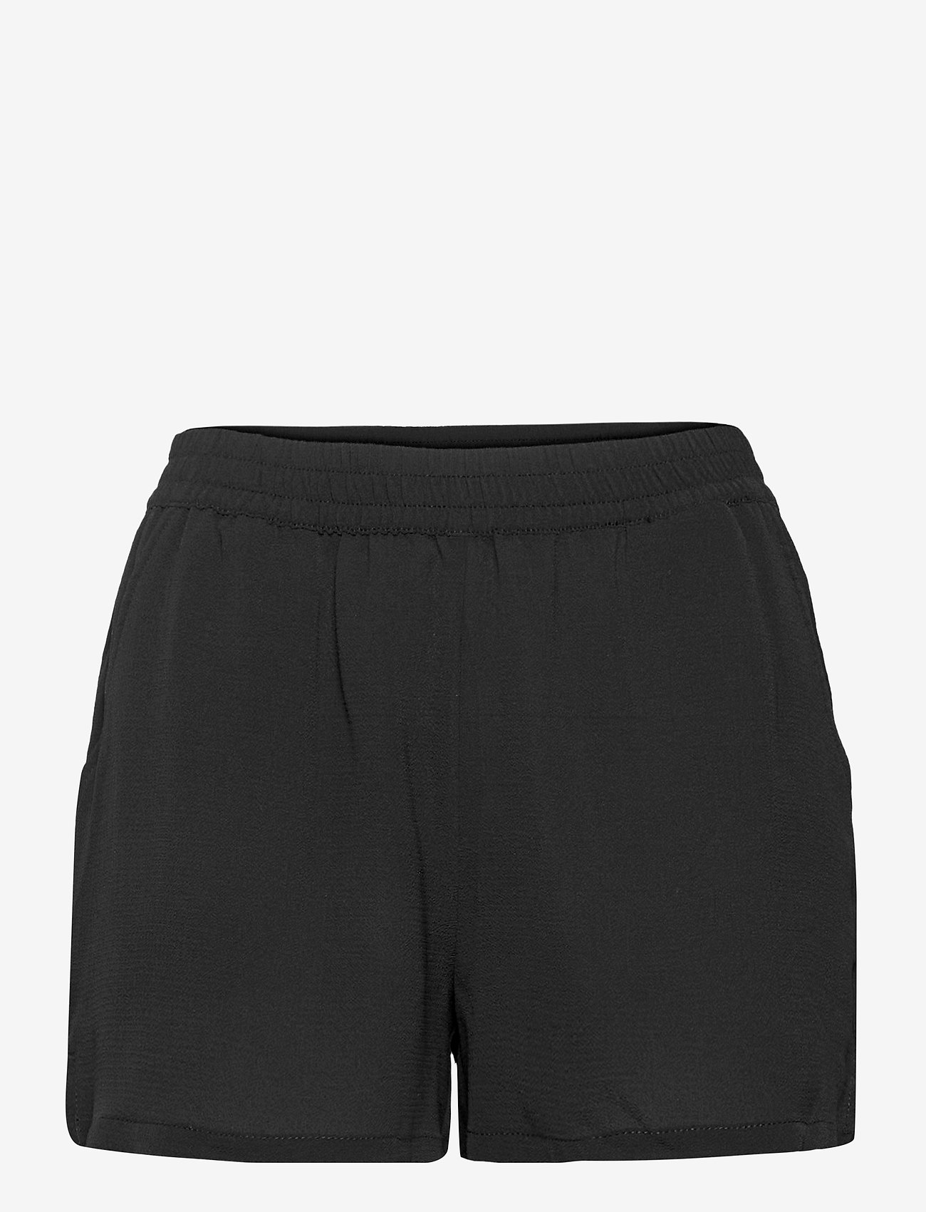 ONLY - ONLNOVA LUX  SHORTS SOLID WVN 7 - shorts casual - black - 0