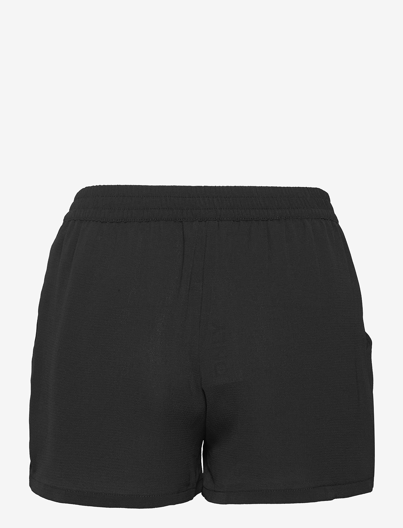ONLY - ONLNOVA LUX  SHORTS SOLID WVN 7 - shorts casual - black - 1
