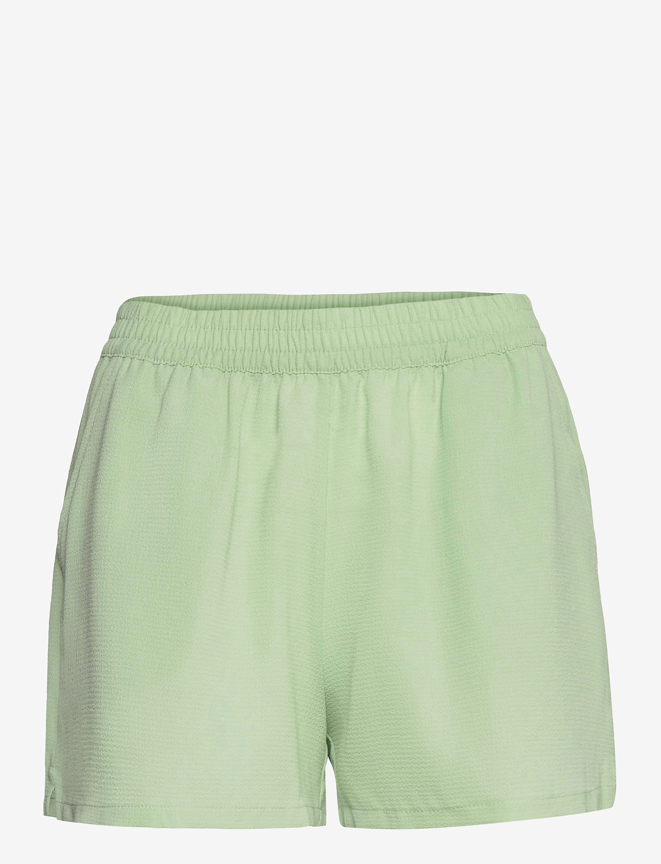ONLY - ONLNOVA LUX  SHORTS SOLID WVN 7 - shorts casual - sprucestone - 0
