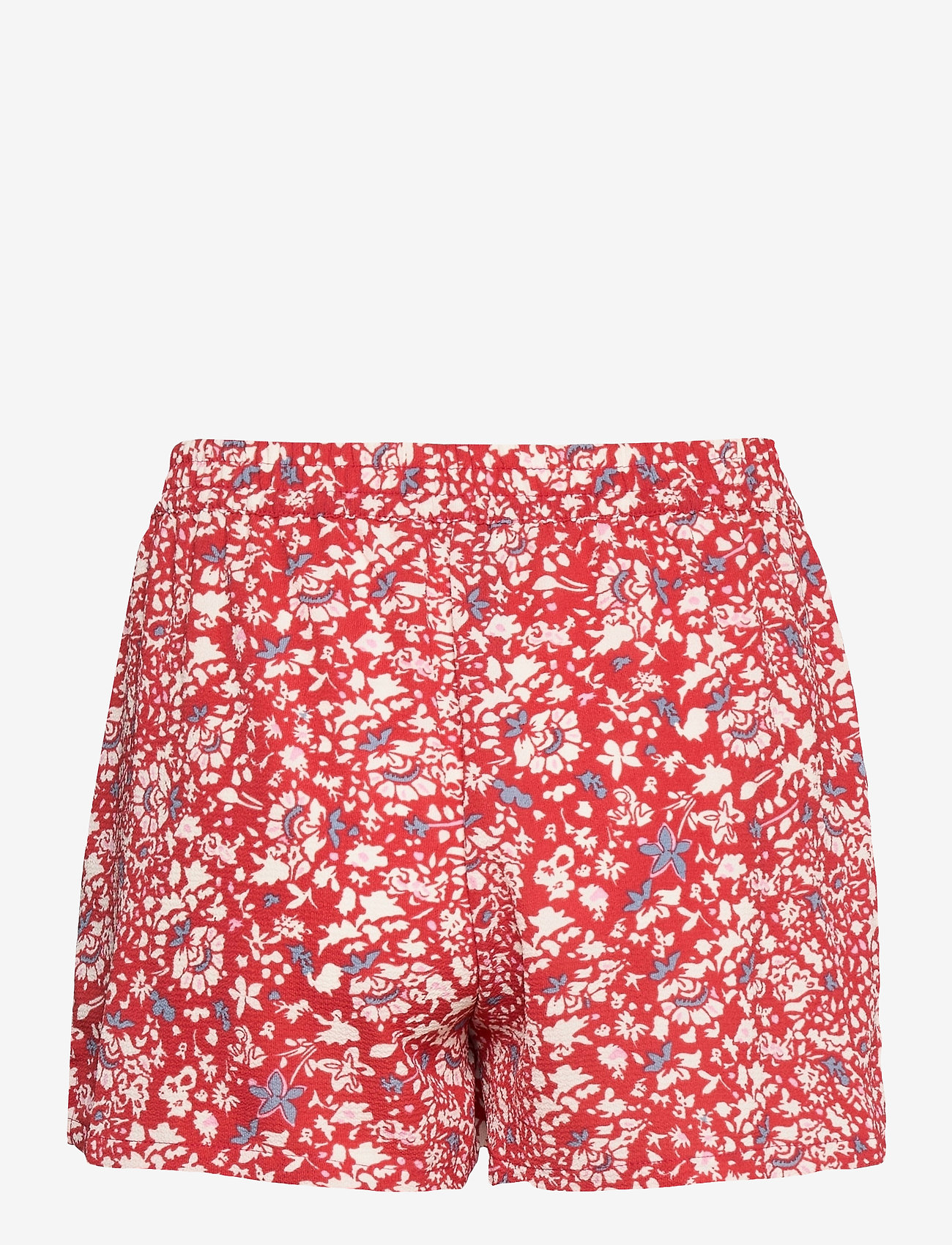 ONLY - ONLNOVA LUX  SHORTS AOP WVN 7 - shorts casual - mineral red - 1